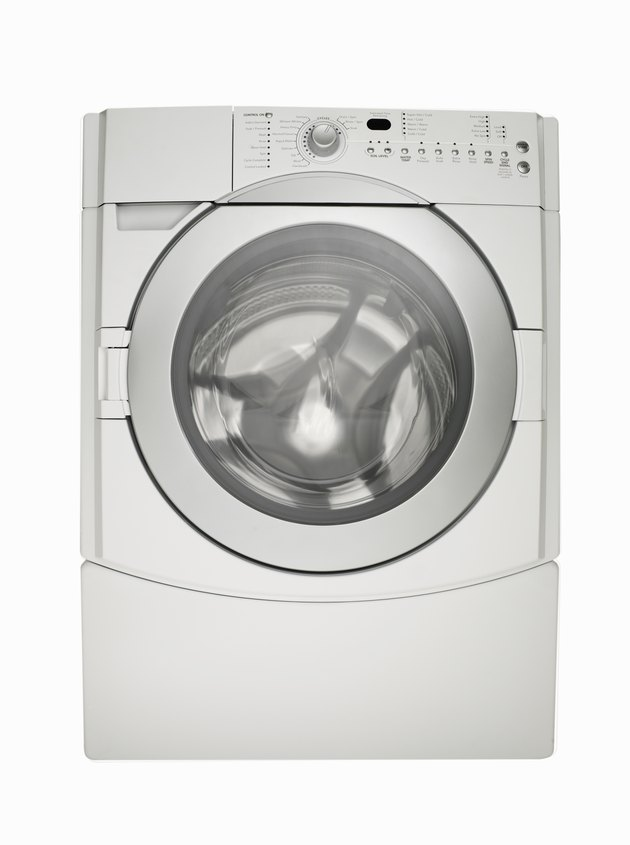 White washing machine