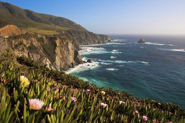 Beautiful Coastline Of Big Sur, California
