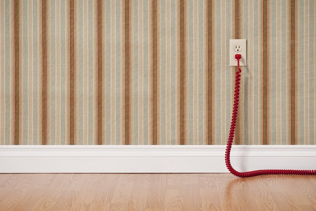 Extension Cord In Empty Room