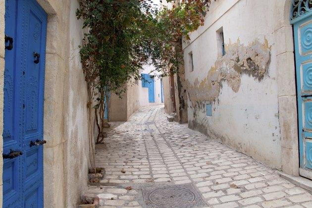 Narrow street in Sousse