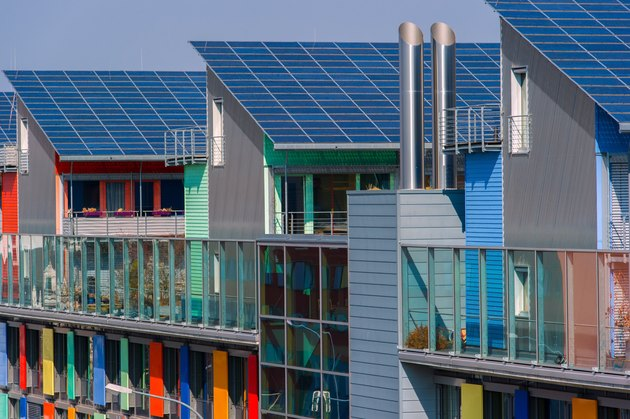 Solar Energy Is Focus Of Energy-Producing Housing Colony