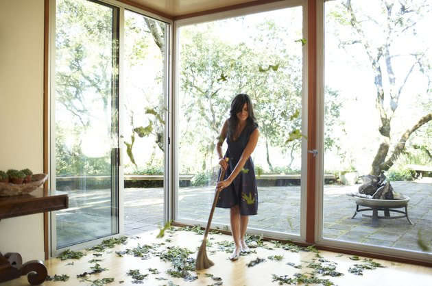 How to Disinfect Wood Flooring