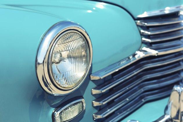 Retro car headlight