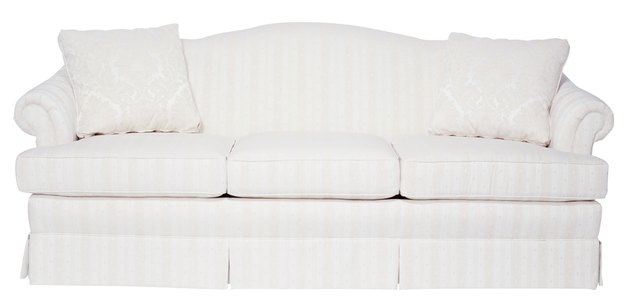 How to Clean Light-Colored Fabric on a Sofa