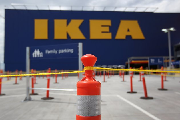 Customers Line Up For Opening Of Ikea Store In Colorado