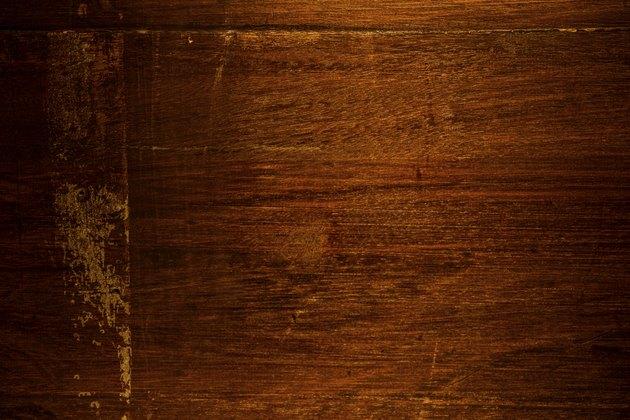 Rough wooden background