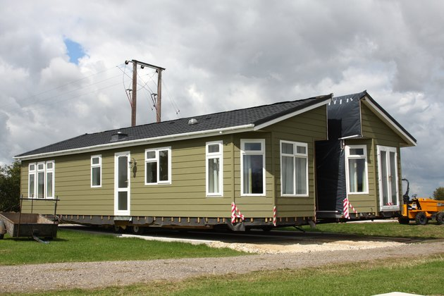 Double Unit Static Holiday Home