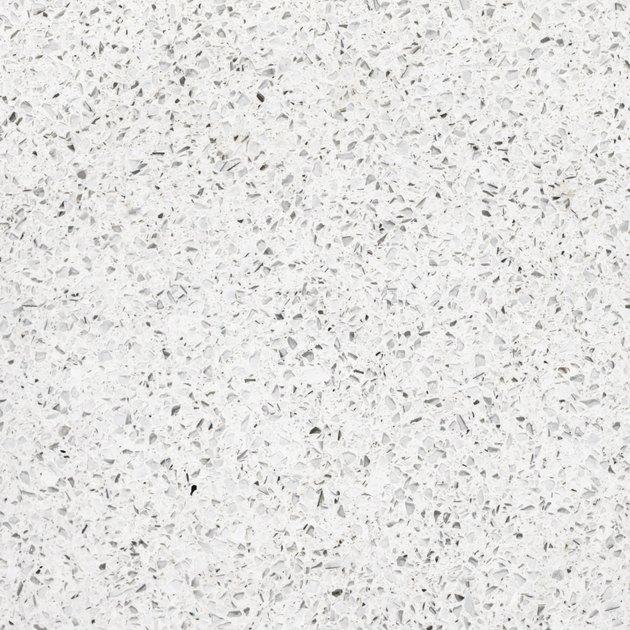 Quartz surface for bathroom or kitchen countertop