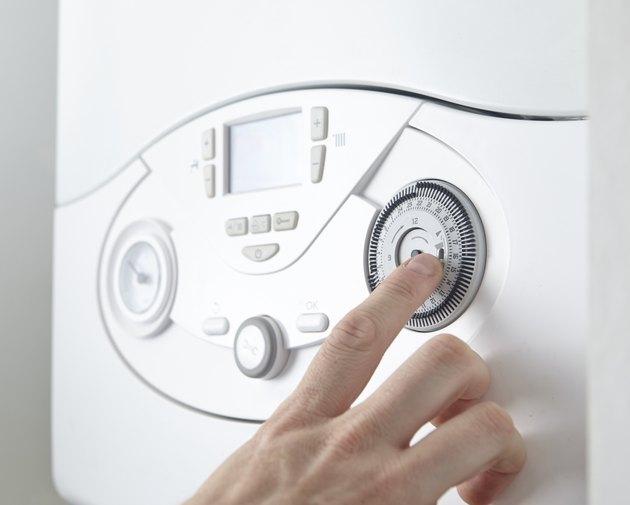 Setting boiler