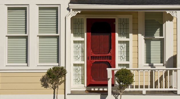 Victorian House - Porch Detail