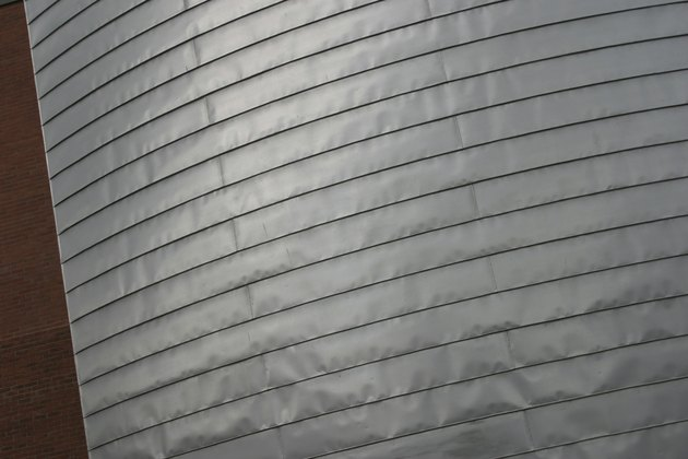Metallic building exterior