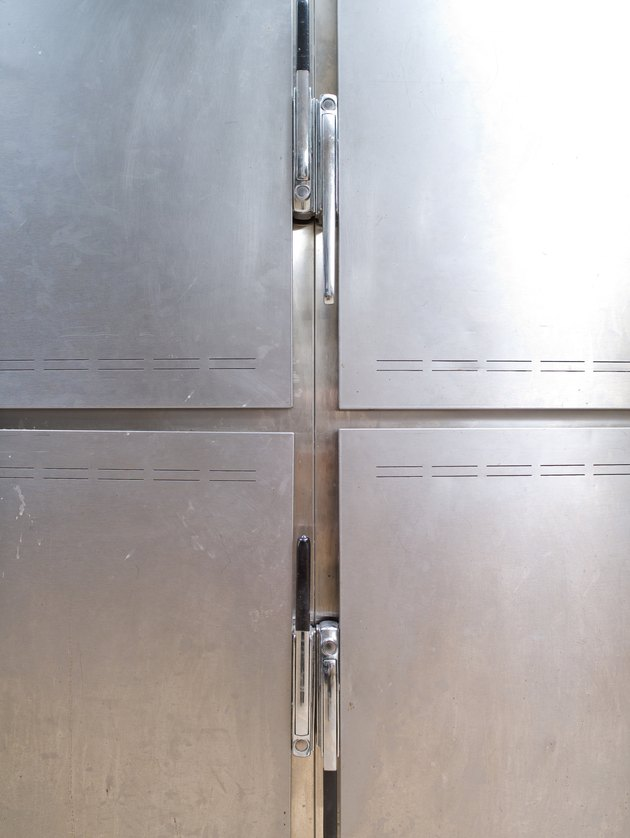 Doors of refrigerator and freezer