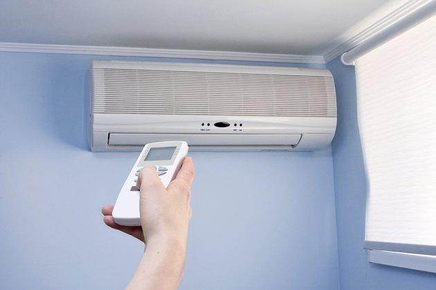 remote control and air conditioner