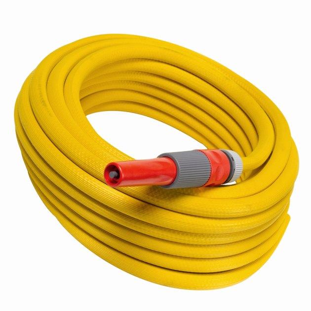 Close up of a power hose