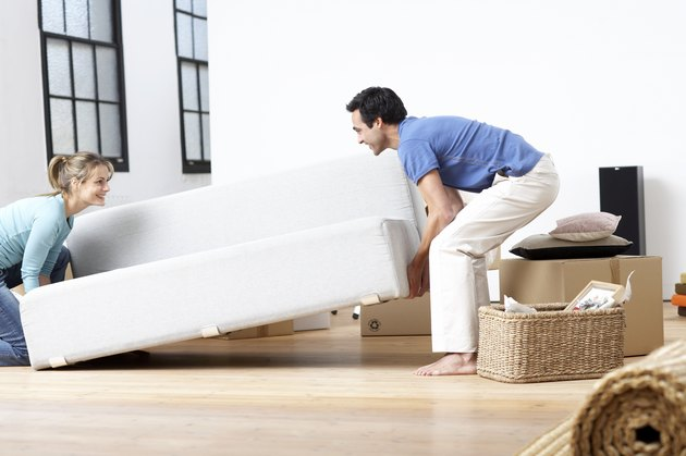 How to Get a Couch Through a Small Door