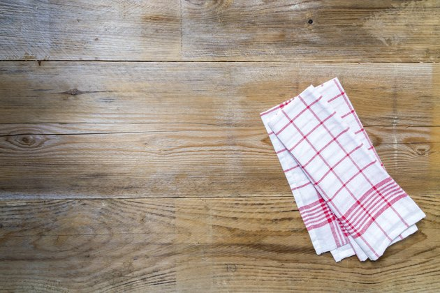 Kitchen cloth background