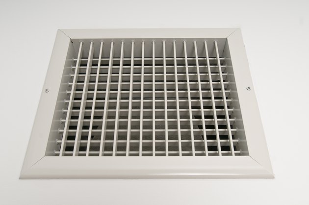 Ventilation panel in residence