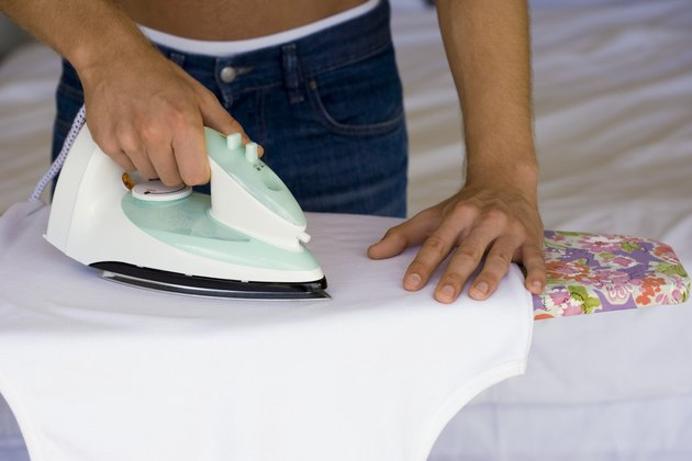 How To Hem Pants Using Iron On Adhesive Tape Hunker