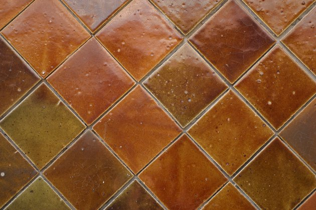 Background of ceramic tiles