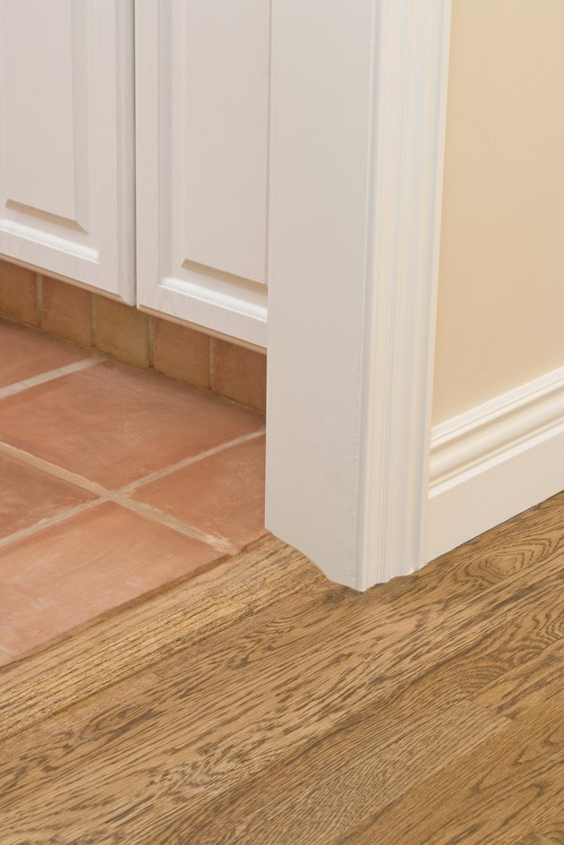 Tile and hardwood floors