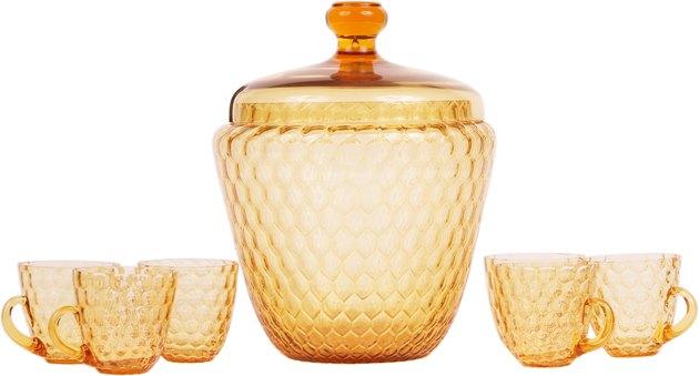 Antique glassware