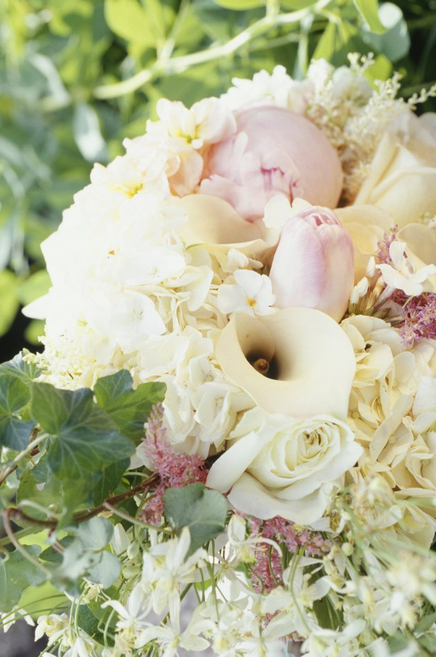 Wedding bouquet, close-up