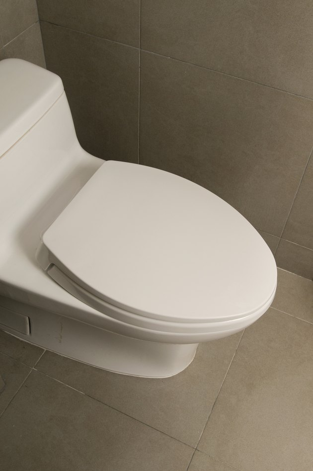 how to get rid of urine odor in the tile around a toilet hunker. Black Bedroom Furniture Sets. Home Design Ideas