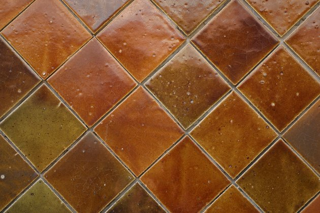 Decorative tile surface