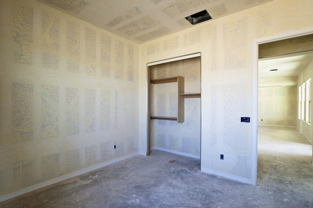 Drywall Construction of a New House
