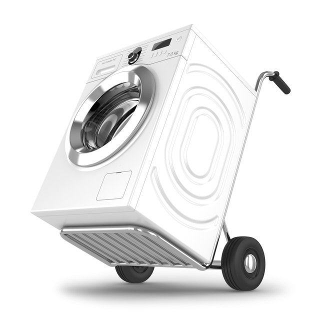 Delivery of washing machine.