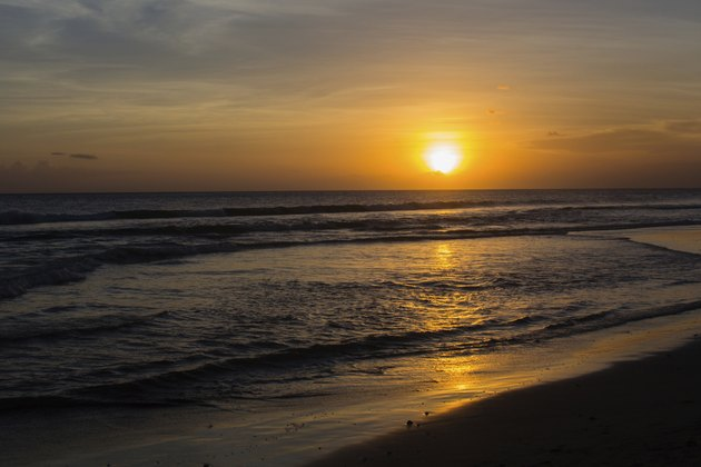 Sunset at Seminyak Beach