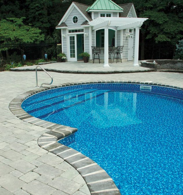 Average costs of an in ground swimming pool hunker - How much does the average swimming pool cost ...