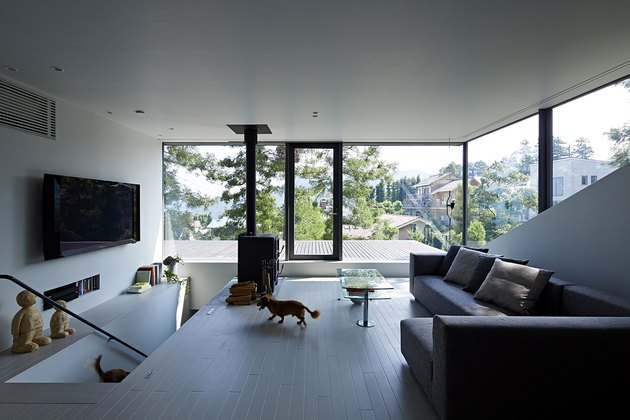 Japanese minimalist living room