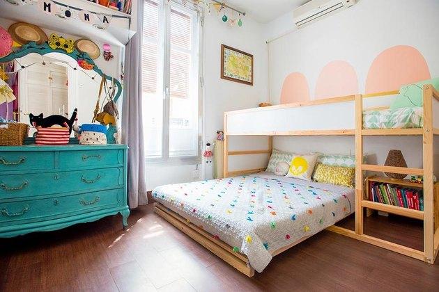 IKEA kura bed platform bed