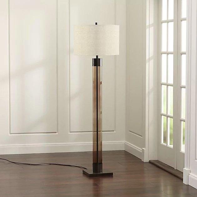 crate and barrel floor lamp