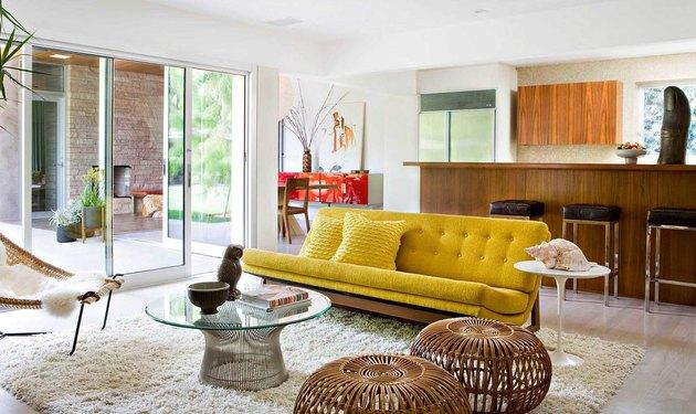 jamie bush designed midcentury modern style brentwood house