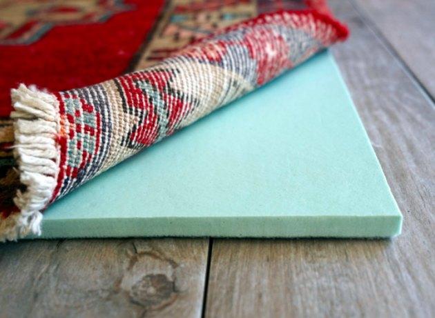 Memory foam carpet pad.
