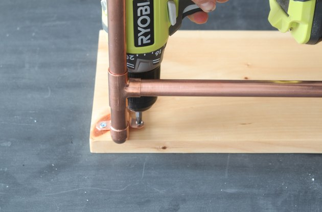 Attaching the copper