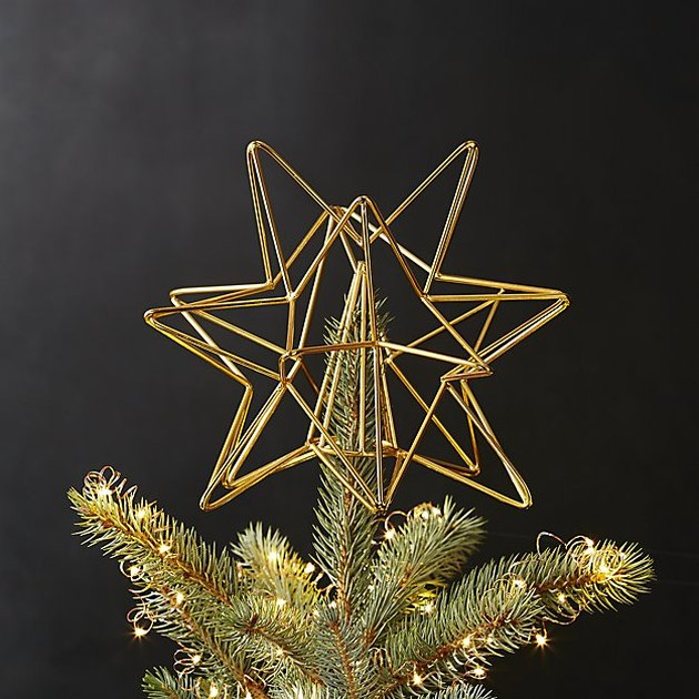 cb2 tree topper