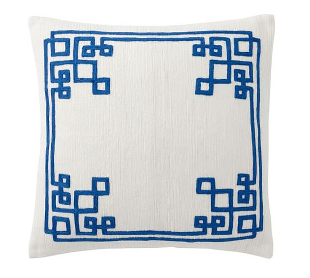 Simone Embroidered Pillow Cover