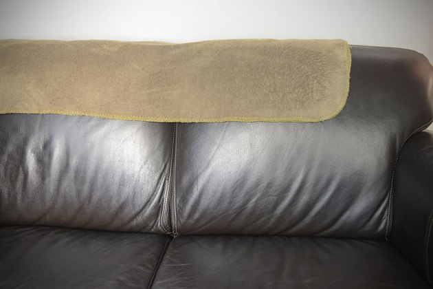 How To Accessorize A Brown Leather Couch Hunker