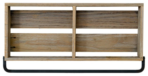 Barn Wood Kitchen Shelf