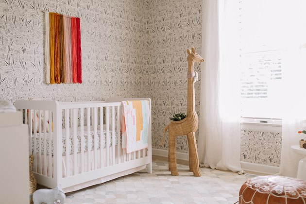 burnt orange nursery