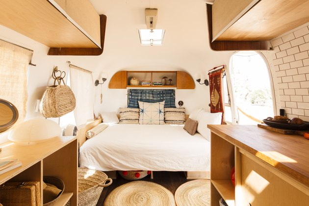 Interior shot of Airstream