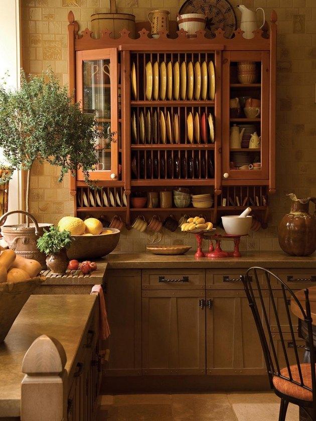 Mediterranean style italian kitchen