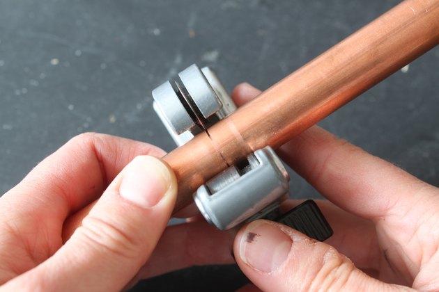 Scoring the copper