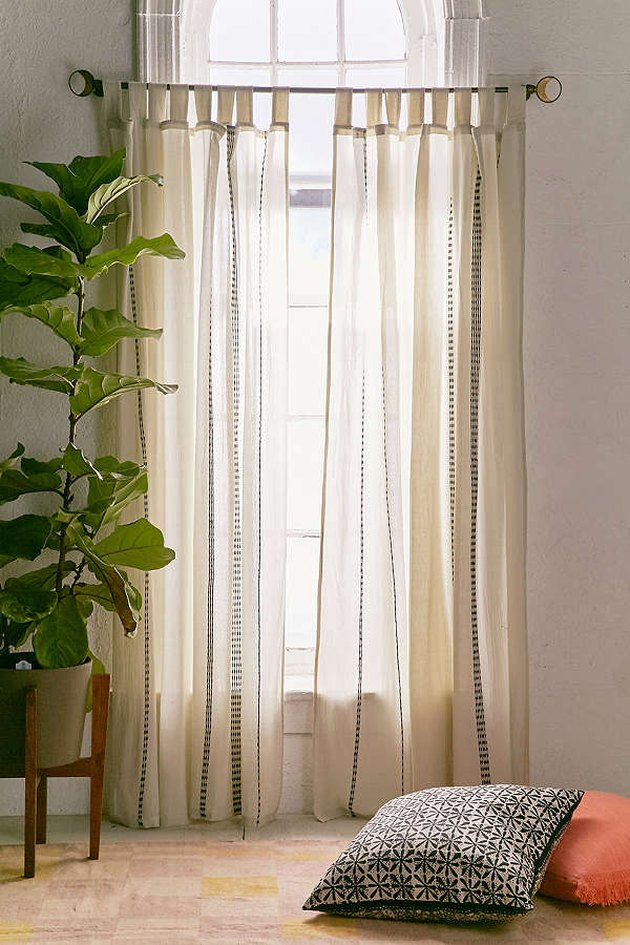 Chunky Embroidery Curtains