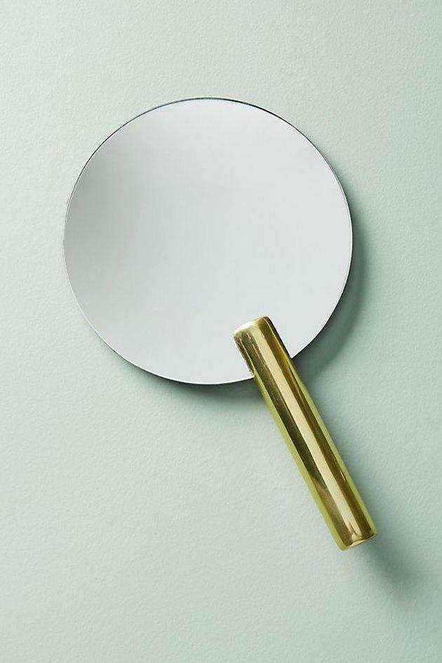 round hand mirror