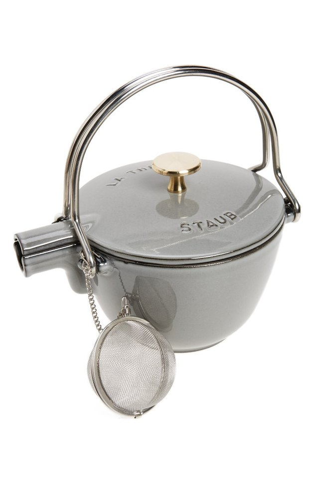 Staub Enameled Tea Kettle