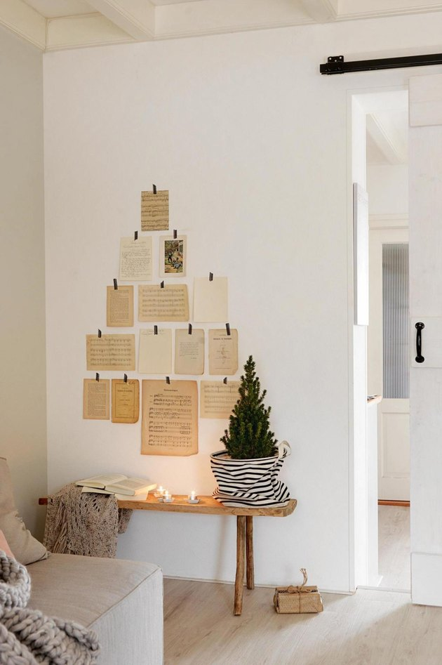 christmas tree alternative paper
